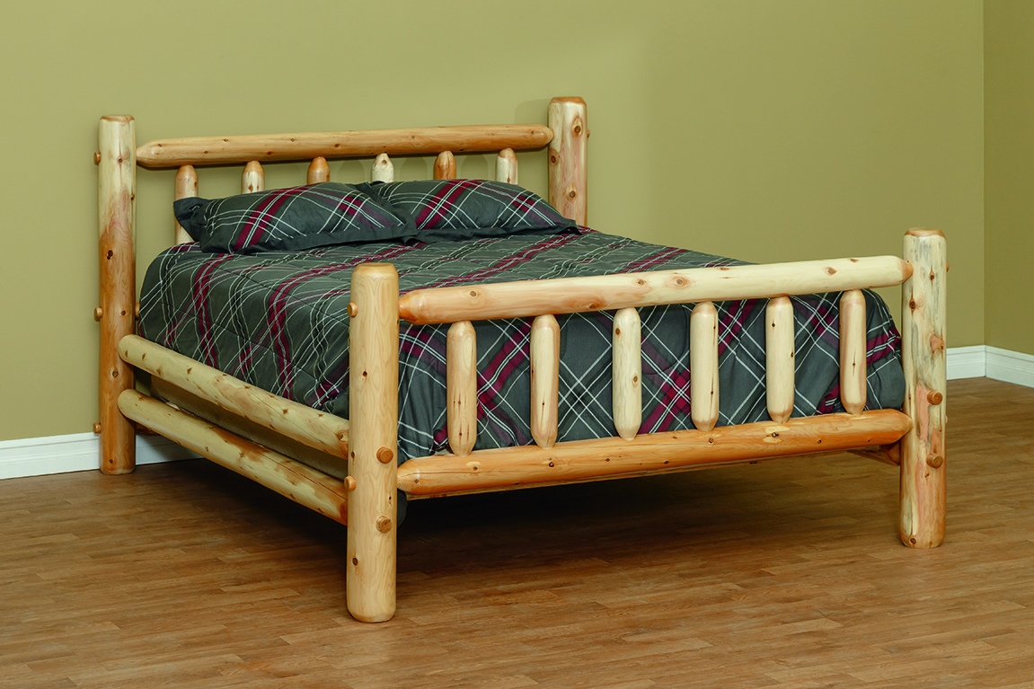 White Cedar Log Furniture White Cedar Chests Beds And